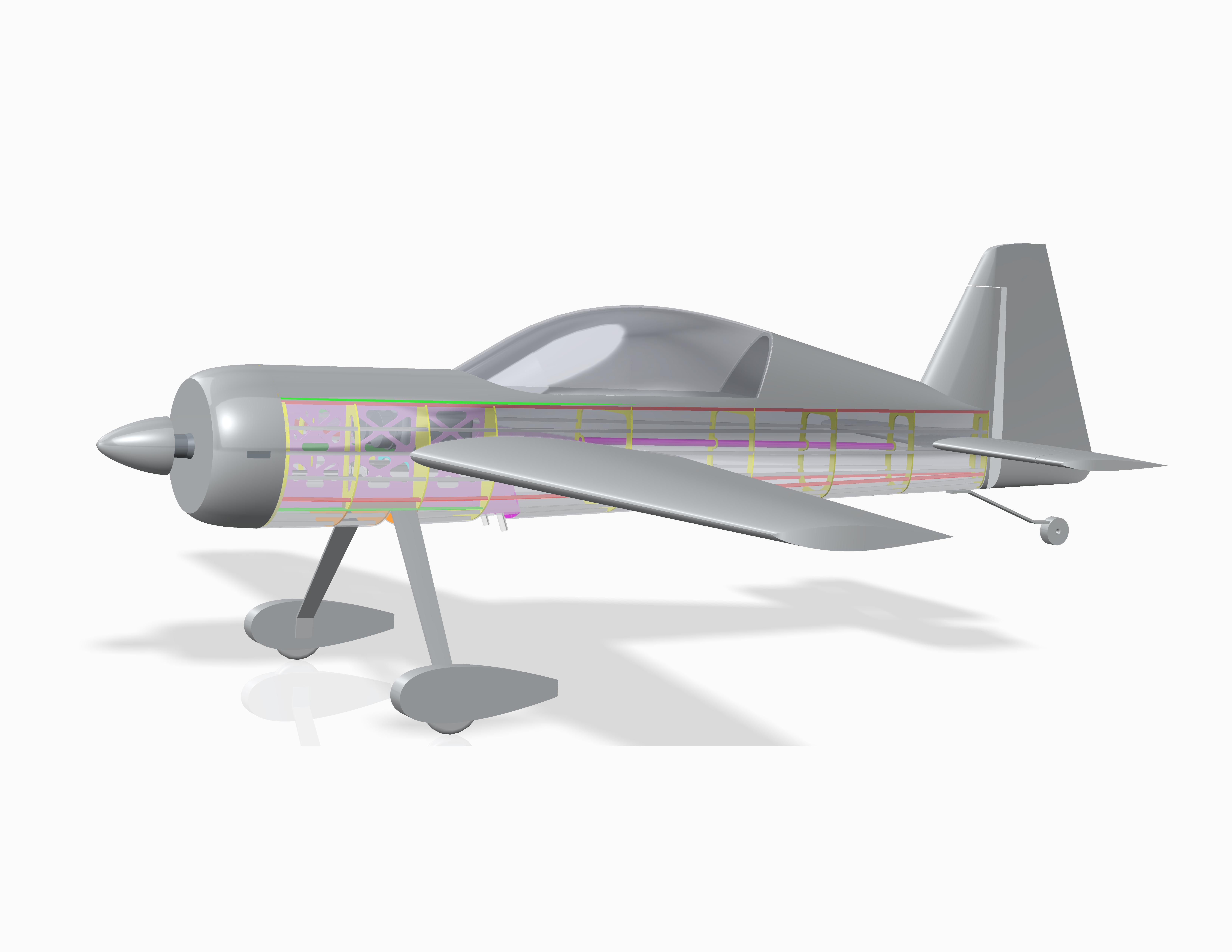 yak-54 3,0m cad-1