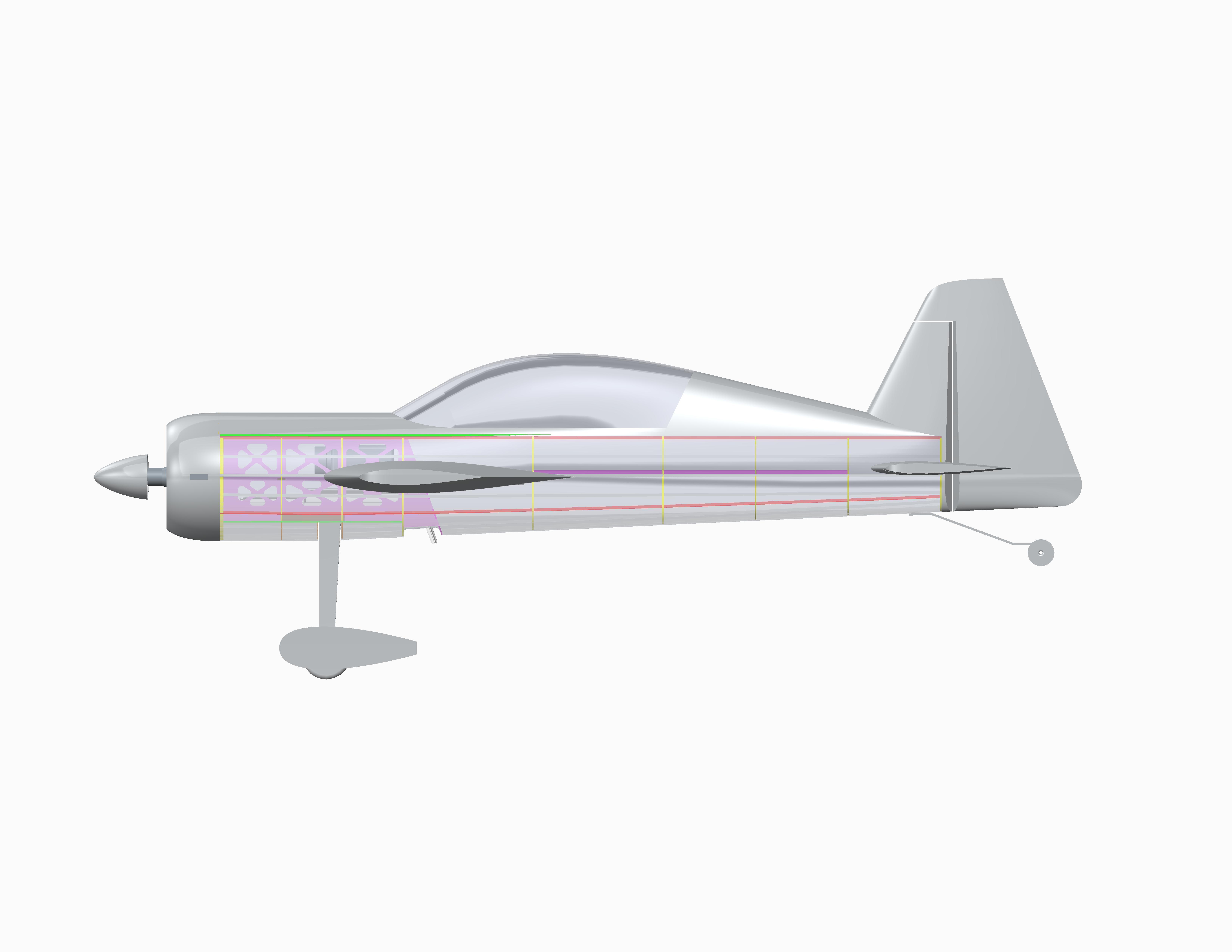 yak-54 3,0m cad-4